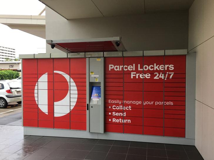 パーセルロッカー 登録 オーストラリア ワーホリ 荷物 準備