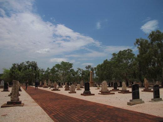 オーストラリア・ブルーム ツアー 日本人墓地