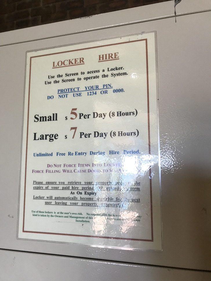 フィッツロイ島 ロッカー