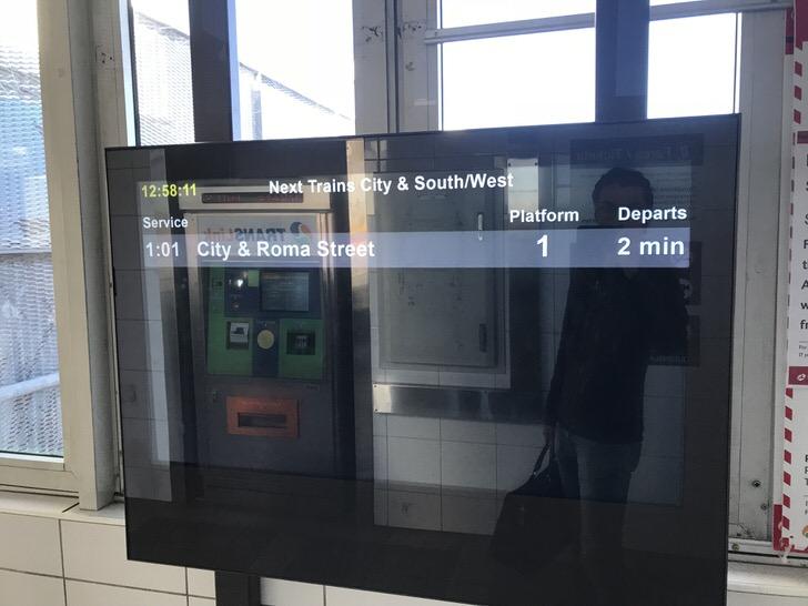 ブリスベン空港 市内 アクセス