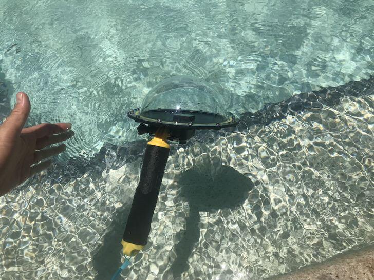 ゴープロ  水中 ハンドグリップ 自撮り棒