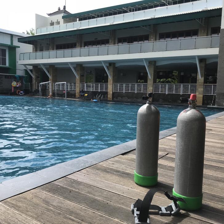 バリ ダイビング オープンウォーター ライセンス