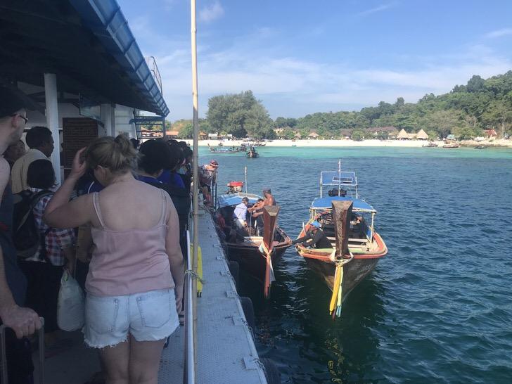 リペ島 行き方 ダイビング