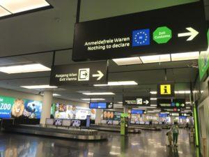 ウィーン 空港 市内 切符の購入方法