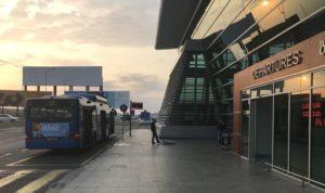 トビリシ空港 バス 市内