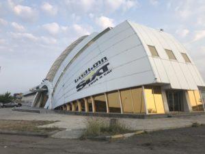 トビリシ空港 電車